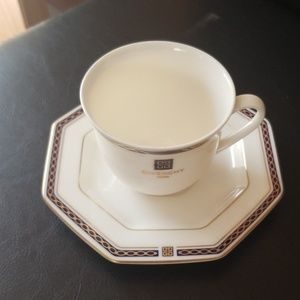 Givenchy Paris Tea cup w/plate